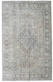 Colored Vintage Rug 205X333 Authentic  Modern Handknotted Light Grey (Wool, Turkey)