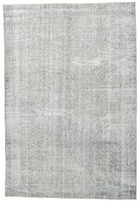 Colored Vintage Rug 207X304 Authentic  Modern Handknotted Light Grey (Wool, Turkey)