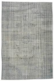 Colored Vintage Teppich  206X316 Echter Moderner Handgeknüpfter Hellgrau/Dunkelgrau (Wolle, Türkei)