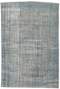 Colored Vintage Rug 210X309 Authentic  Modern Handknotted Light Grey/Dark Grey (Wool, Turkey)