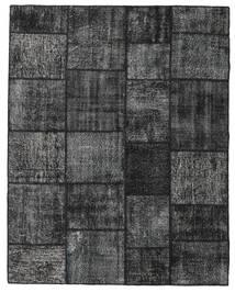 Patchwork Rug 199X252 Authentic  Modern Handknotted Dark Grey (Wool, Turkey)
