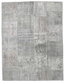 Patchwork Rug 197X251 Authentic  Modern Handknotted Light Grey (Wool, Turkey)