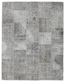 Patchwork Rug 196X251 Authentic  Modern Handknotted Light Grey/Dark Grey (Wool, Turkey)
