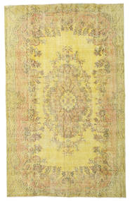 Colored Vintage Rug 172X279 Authentic  Modern Handknotted Yellow/Light Brown (Wool, Turkey)