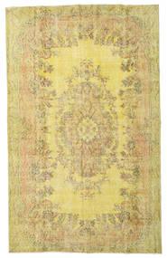 カラード ヴィンテージ 絨毯 172X279 モダン 手織り 黄色/薄茶色 (ウール, トルコ)