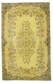 Colored Vintage Rug 172X274 Authentic  Modern Handknotted Yellow/Olive Green (Wool, Turkey)