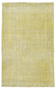 Colored Vintage Rug 152X246 Authentic  Modern Handknotted Light Green/Dark Beige/Yellow (Wool, Turkey)
