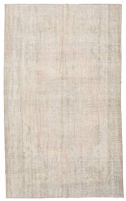 Colored Vintage Rug 186X308 Authentic  Modern Handknotted Light Grey/Light Brown (Wool, Turkey)