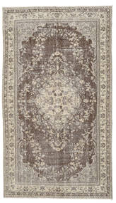Colored Vintage Rug 169X296 Authentic  Modern Handknotted Light Brown/Dark Brown (Wool, Turkey)