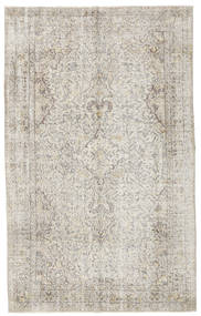 Colored Vintage Rug 165X270 Authentic  Modern Handknotted Light Grey/Dark Beige (Wool, Turkey)