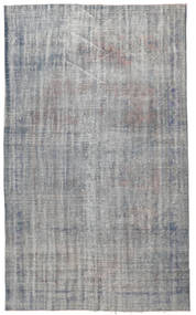 Colored Vintage Rug 181X298 Authentic  Modern Handknotted Light Grey/Dark Grey (Wool, Turkey)