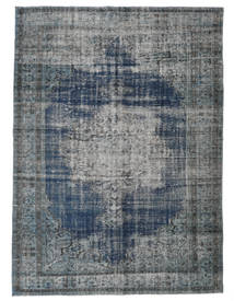 Colored Vintage Rug 212X289 Authentic  Modern Handknotted Dark Grey/Light Grey (Wool, Turkey)