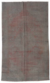 Colored Vintage Rug 162X270 Authentic  Modern Handknotted Dark Grey/Light Grey/Light Brown (Wool, Turkey)