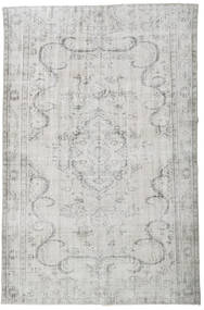 Colored Vintage Rug 190X287 Authentic  Modern Handknotted Light Grey/Beige (Wool, Turkey)
