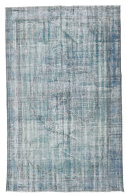 Colored Vintage Rug 164X265 Authentic  Modern Handknotted Light Grey/Light Blue (Wool, Turkey)
