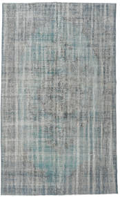 Colored Vintage Rug 172X288 Authentic  Modern Handknotted Light Grey/Light Blue (Wool, Turkey)