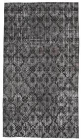 Colored Vintage Rug 154X278 Authentic  Modern Handknotted Dark Grey/Black (Wool, Turkey)