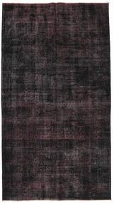 Colored Vintage Tapete 140X250 Moderno Feito A Mão Vermelho Escuro/Castanho Escuro (Lã, Turquia)