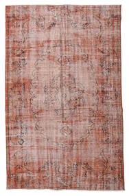 Colored Vintage Rug 161X254 Authentic  Modern Handknotted Light Pink/Dark Red (Wool, Turkey)