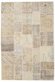 パッチワーク 絨毯 202X300 モダン 手織り 薄茶色/ベージュ (ウール, トルコ)