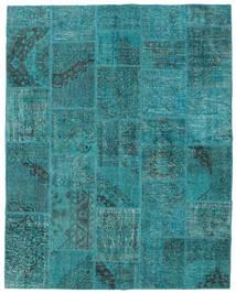 パッチワーク 絨毯 200X251 モダン 手織り ターコイズ/ターコイズブルー (ウール, トルコ)