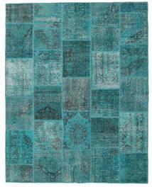 パッチワーク 絨毯 200X250 モダン 手織り ターコイズ/ターコイズブルー (ウール, トルコ)