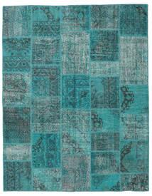 パッチワーク 絨毯 197X250 モダン 手織り ターコイズブルー/ターコイズ (ウール, トルコ)