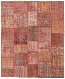 Patchwork Rug 248X298 Authentic  Modern Handknotted Brown/Light Brown (Wool, Turkey)