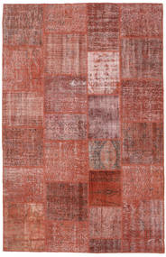 Patchwork Rug 195X303 Authentic  Modern Handknotted Brown/Purple (Wool, Turkey)