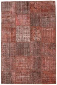 Patchwork Matta 197X301 Äkta Modern Handknuten Ljusbrun/Brun (Ull, Turkiet)