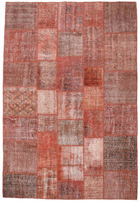 Patchwork Rug 204X297 Authentic  Modern Handknotted Brown/Light Brown (Wool, Turkey)
