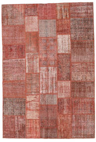 Patchwork Rug 205X300 Authentic  Modern Handknotted Brown/Light Pink (Wool, Turkey)