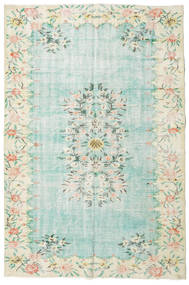 Colored Vintage rug XCGZT1360