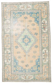 Colored Vintage Rug 195X317 Authentic  Modern Handknotted Beige/Light Grey (Wool, Turkey)