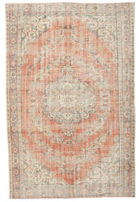 Colored Vintage Rug 192X297 Authentic  Modern Handknotted Light Brown/Light Pink (Wool, Turkey)