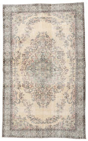 Colored Vintage Rug 167X276 Authentic  Modern Handknotted Light Brown/Beige/Light Grey (Wool, Turkey)