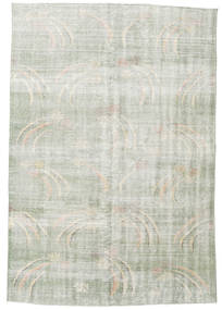 Colored Vintage Rug 171X246 Authentic  Modern Handknotted Light Grey/Beige (Wool, Turkey)