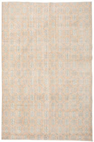 Colored Vintage Rug 213X324 Authentic  Modern Handknotted Light Grey/Beige (Wool, Turkey)