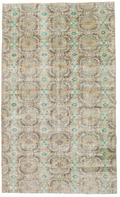 Colored Vintage Rug 151X249 Authentic  Modern Handknotted Light Grey/Light Brown (Wool, Turkey)