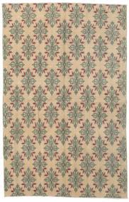Colored Vintage Covor 150X235 Modern Lucrat Manual Maro Deschis/Gri Deschis/Bej Închis (Lână, Turcia)