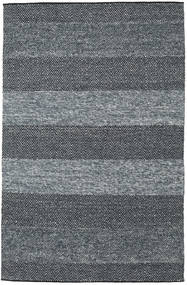 Folke - Denim Blue Rug 200X300 Authentic  Modern Handwoven Dark Grey/Blue (Wool, India)