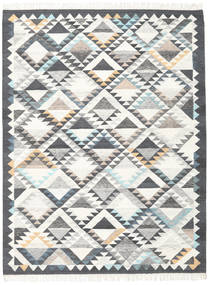 Texcoco Rug 240X340 Authentic  Modern Handwoven Beige/Dark Grey/Light Grey (Wool, India)
