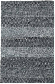 Folke - Denim Blue Rug 250X350 Authentic  Modern Handwoven Dark Grey/Light Grey Large (Wool, India)