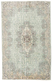 Colored Vintage Rug 178X286 Authentic  Modern Handknotted Light Grey/Beige (Wool, Turkey)