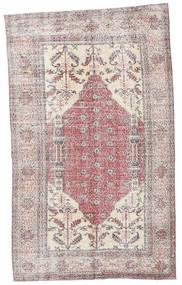 Colored Vintage Alfombra 153X252 Moderna Hecha A Mano Beige/Blanco/Crema/Violeta Claro (Lana, Turquía)