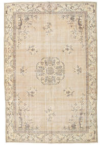 Colored Vintage Rug 208X323 Authentic  Modern Handknotted Beige/Light Grey (Wool, Turkey)