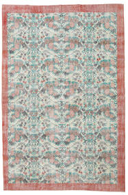 Colored Vintage Rug 208X320 Authentic  Modern Handknotted Light Green/Dark Beige (Wool, Turkey)