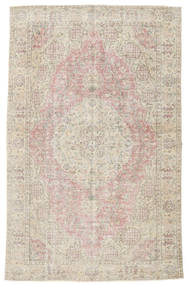 Colored Vintage Rug 168X265 Authentic  Modern Handknotted Light Grey/Light Brown (Wool, Turkey)