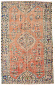 Colored Vintage Rug 185X293 Authentic  Modern Handknotted Light Brown/Light Grey (Wool, Turkey)