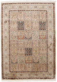 Kashmir pure silk rug MSC122